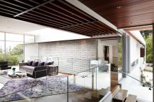 Khmer Interior Living Room Modern Architecture Estate in Cambodia