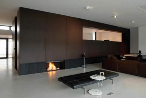 Khmer Interior Living Room Modern Fireplaces from MetalFire in Cambodia