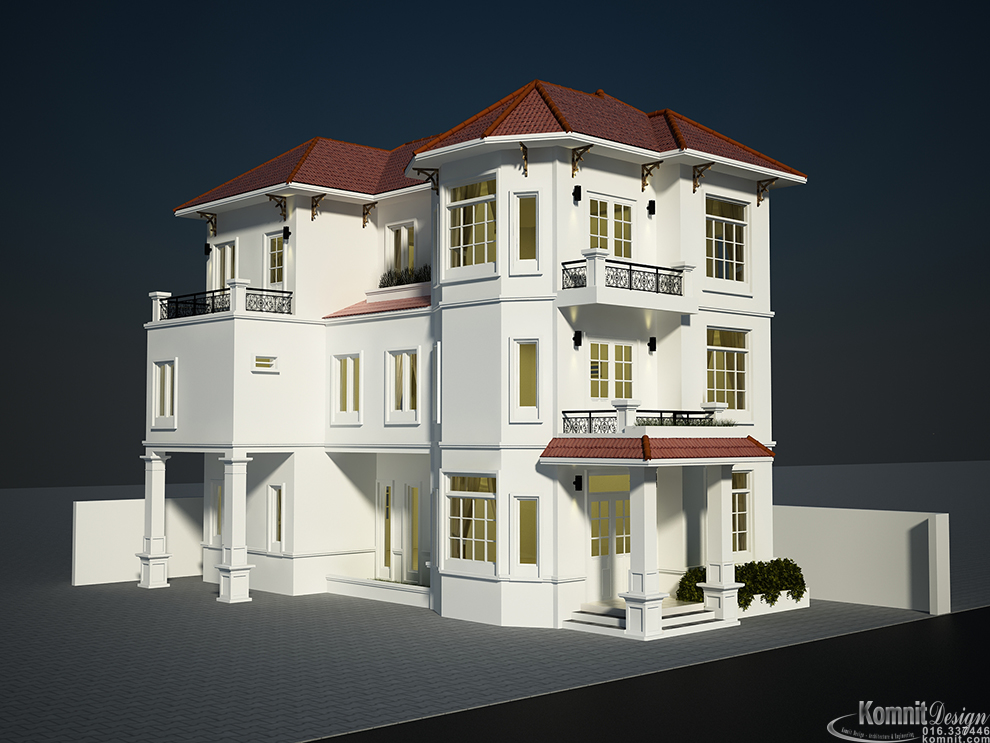 Khmer Exterior House House-EP12 in Cambodia