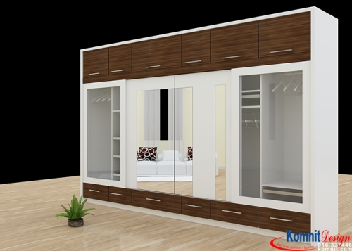 Khmer Furniture Wardrobe CS-K001 in Cambodia